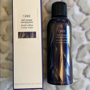 Oribe soft lacquer heat styling spray $36